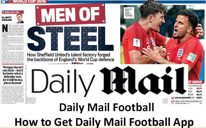 Daily Mail Football - How to Get Daily Mail Football App