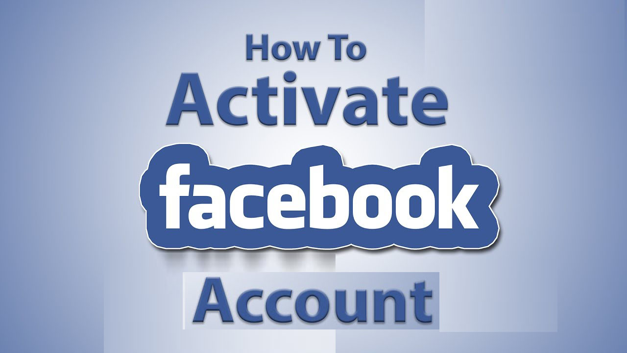 How to Activate Facebook Account - Recover Delete Facebook Account - Activate Deactivated Facebook Account