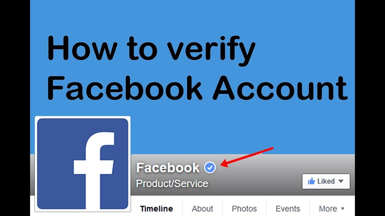 How to Verify Facebook Account - Facebook Account Verification Process