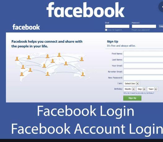 facebook log into