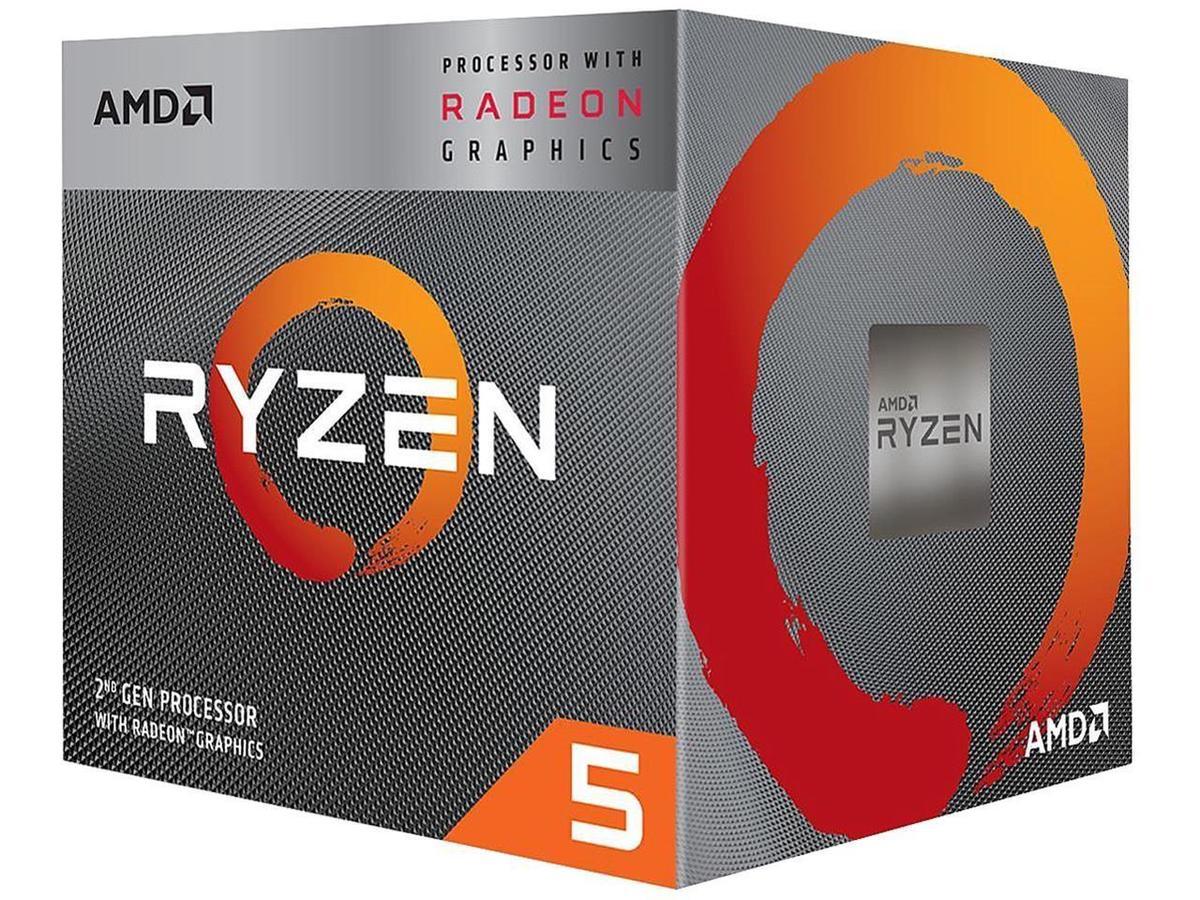 AMD Ryzen 5 3400G 4-Core 3.7 GHz (4.2 GHz Max Boost)