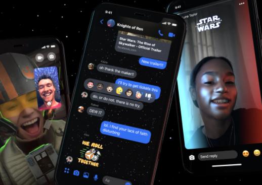 Facebook Messenger New Themes