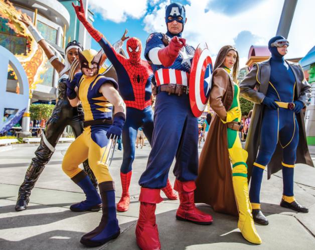 Marvel Super Hero Island affords a theme-park window right into a pre-MCU world